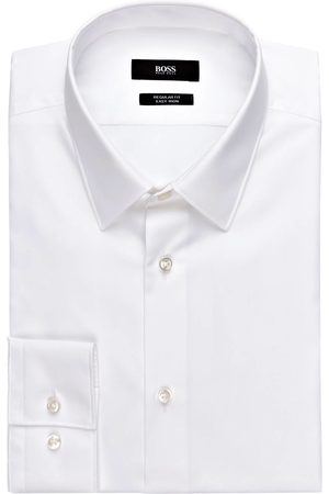 HUGO BOSS Hemd Eliott Regular Fit weiss
