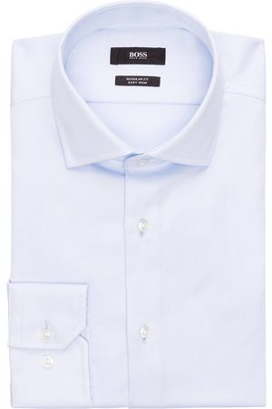 HUGO BOSS Hemd Regular Fit blau