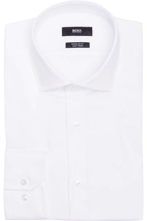 HUGO BOSS Herren Business - Hemd Regular Fit weiss