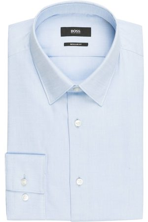 HUGO BOSS Hemd Eliott Regular Fit blau