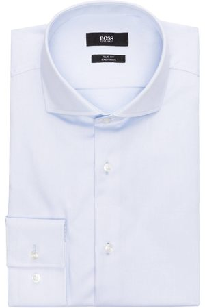 HUGO BOSS Hemd Jason Slim Fit blau