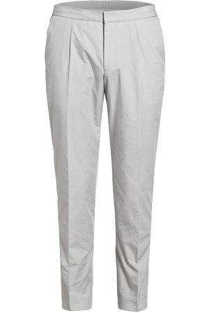 HUGO BOSS Kombi-Hose Brider Slim Fit grau