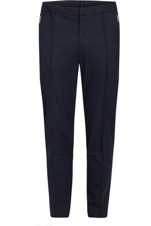 HUGO BOSS Hose Banks Slim Fit blau