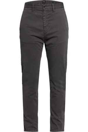 HUGO BOSS Chino Schino-Taber Tapered Fit grau