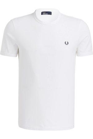 Fred Perry Herren Shirts - T-Shirt weiss