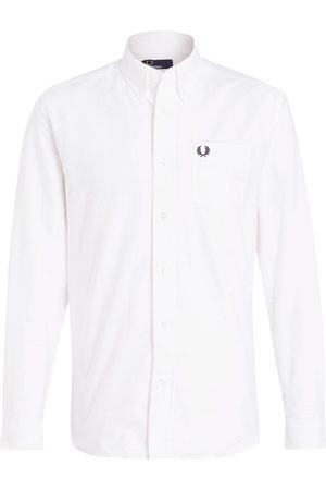 Fred Perry Hemd Comfort Fit weiss