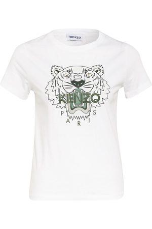 Kenzo T-Shirt Tiger weiss