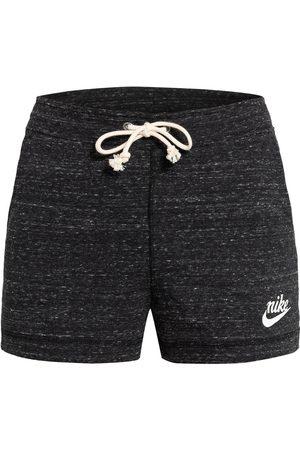 Nike Sweatshorts Gym Vintage schwarz