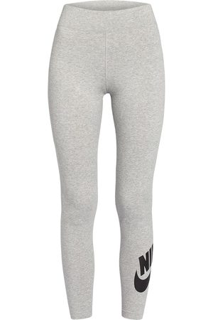 Nike 7/8-Tights Leg-A-See grau