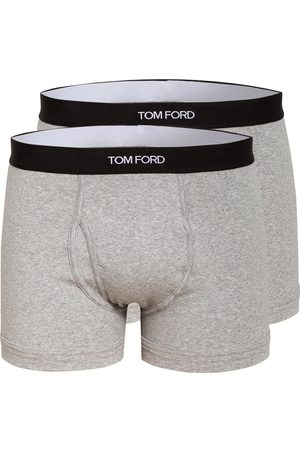 Tom Ford 2er-Pack Boxershorts grau