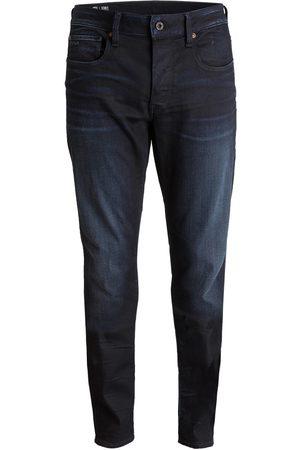 G-Star Herren Slim - Jeans 3301 Slim Fit blau