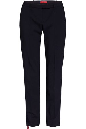 HUGO BOSS Hose The Fitted Trousers blau
