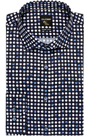 Olymp Hemd No. Six Super Slim blau