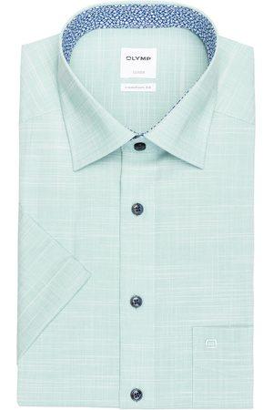 Olymp Halbarm-Hemd Luxor Comfort Fit gruen