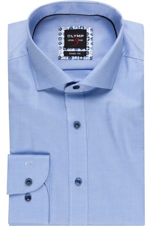Olymp Hemd Level Five Body Fit blau