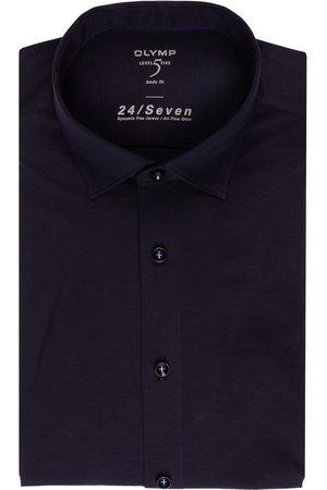 Olymp Jerseyhemd Level Five Body Fit blau