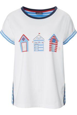 Mybc Rundhals-Shirt weiss