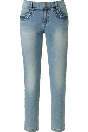 Glücksmoment Knöchellange Jeans Modell Grace denim