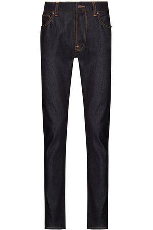 Nudie Jeans Herren Slim - Lean Dean Dry slim-leg jeans