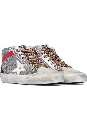Golden Goose Sneakers Mid Star aus Leder