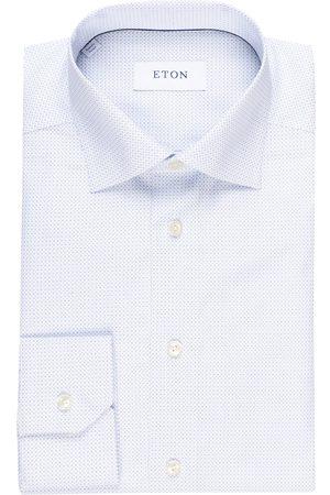 Eton Hemd Slim Fit blau