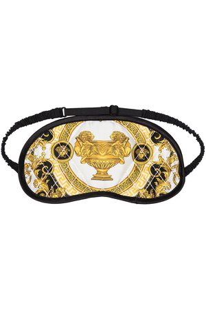 VERSACE Multicoloured Baroque print eye mask