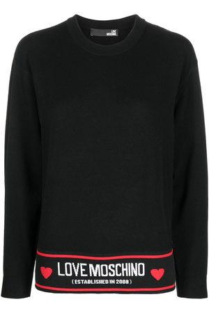 Love Moschino Logo waistband jumper