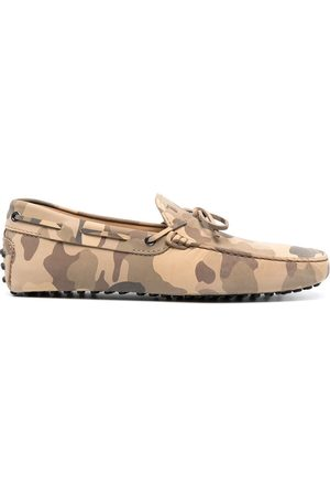 Tod's Camouflage-print City Gommino loafers