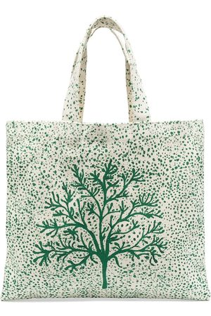10 CORSO COMO Tree-print tote bag