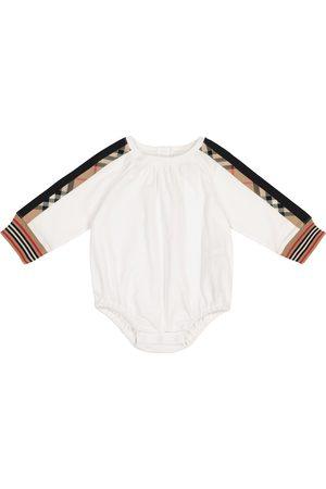 Burberry Baby Spieler Vintage Check aus Baumwolle