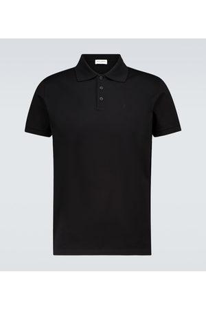 Saint Laurent Kurzarm-Poloshirt