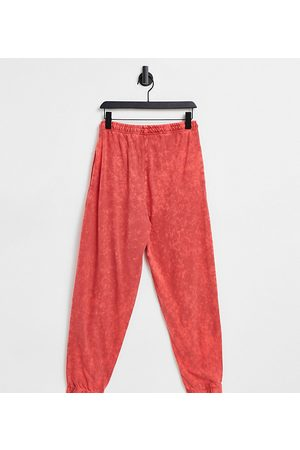 COLLUSION Unisex oversized joggers in stone wash co-ord