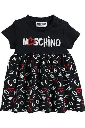 Moschino Baby Kleid aus Baumwolle