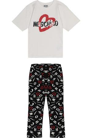 Moschino Set aus T-Shirt und Leggings