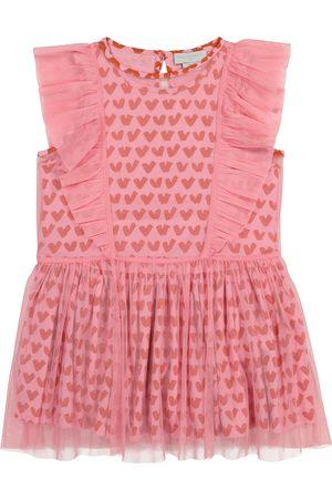 Stella McCartney Bedrucktes Kleid aus Tüll