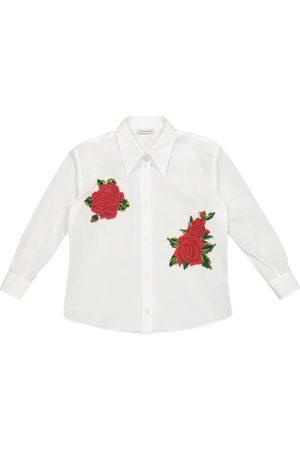 Dolce & Gabbana Verziertes Hemd aus Baumwolle