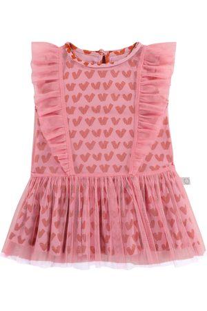 Stella McCartney Baby Bedrucktes Kleid aus Tüll