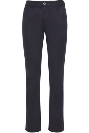 Prada 19cm Jeans Aus Stretch-baumwolldenim