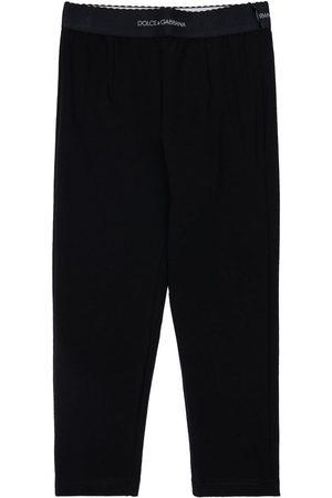 Dolce & Gabbana Leggings Aus Baumwollmischinterlock