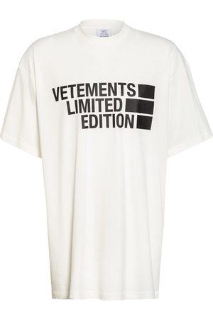 Vetements T-Shirt weiss