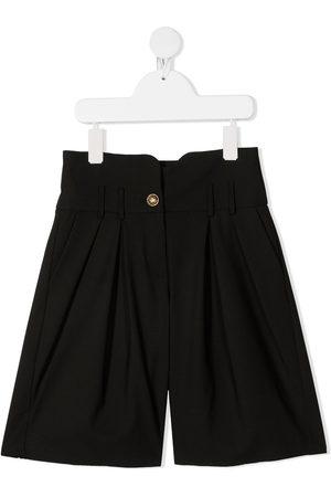Balmain Kids Wide leg tailored shorts