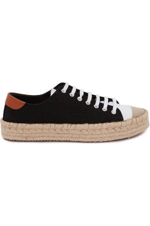 J.W.Anderson Jute sole lace-up sneakers