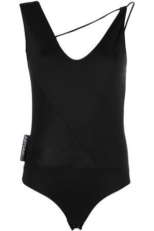Roberto Cavalli Asymmetric strap bodysuit