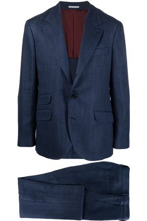Brunello Cucinelli Herringbone suit