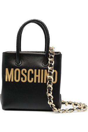 Moschino Mini logo-print crossbody bag