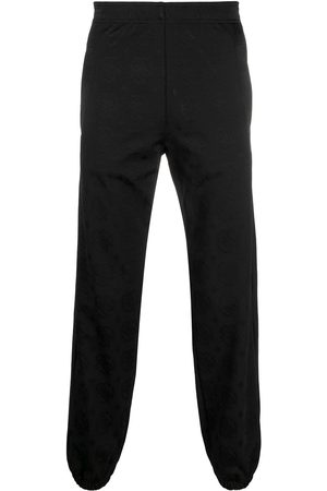 Roberto Cavalli Jacquard logo track trousers