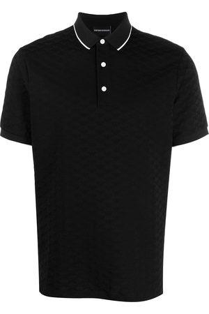 Emporio Armani Herren Poloshirts - Logo embroidered polo shirt