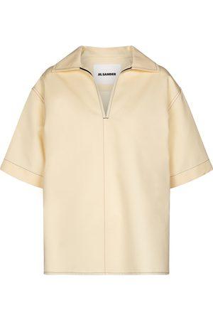 Jil Sander Hemd aus Baumwolle und Seide