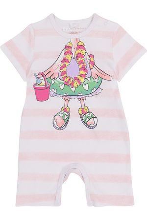 Stella McCartney Baby Bedruckter Spieler aus Baumwolle