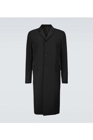 Prada Einreihiger Mantel aus Tech-Material